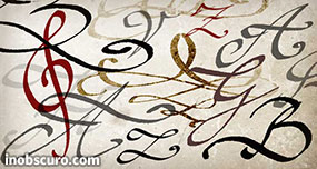 Calligraphy Photoshop Brushes