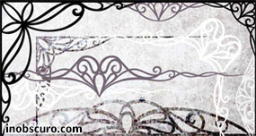 Art Nouveau Border Ornaments Photoshop Brushes
